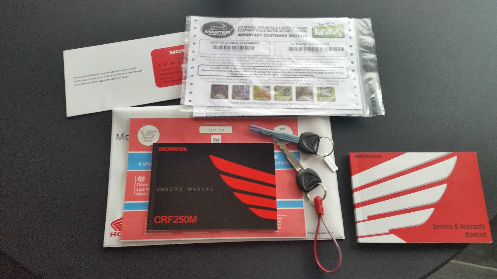 Honda crf 250 M 2014 , crf250, supermoto, road legal, fast