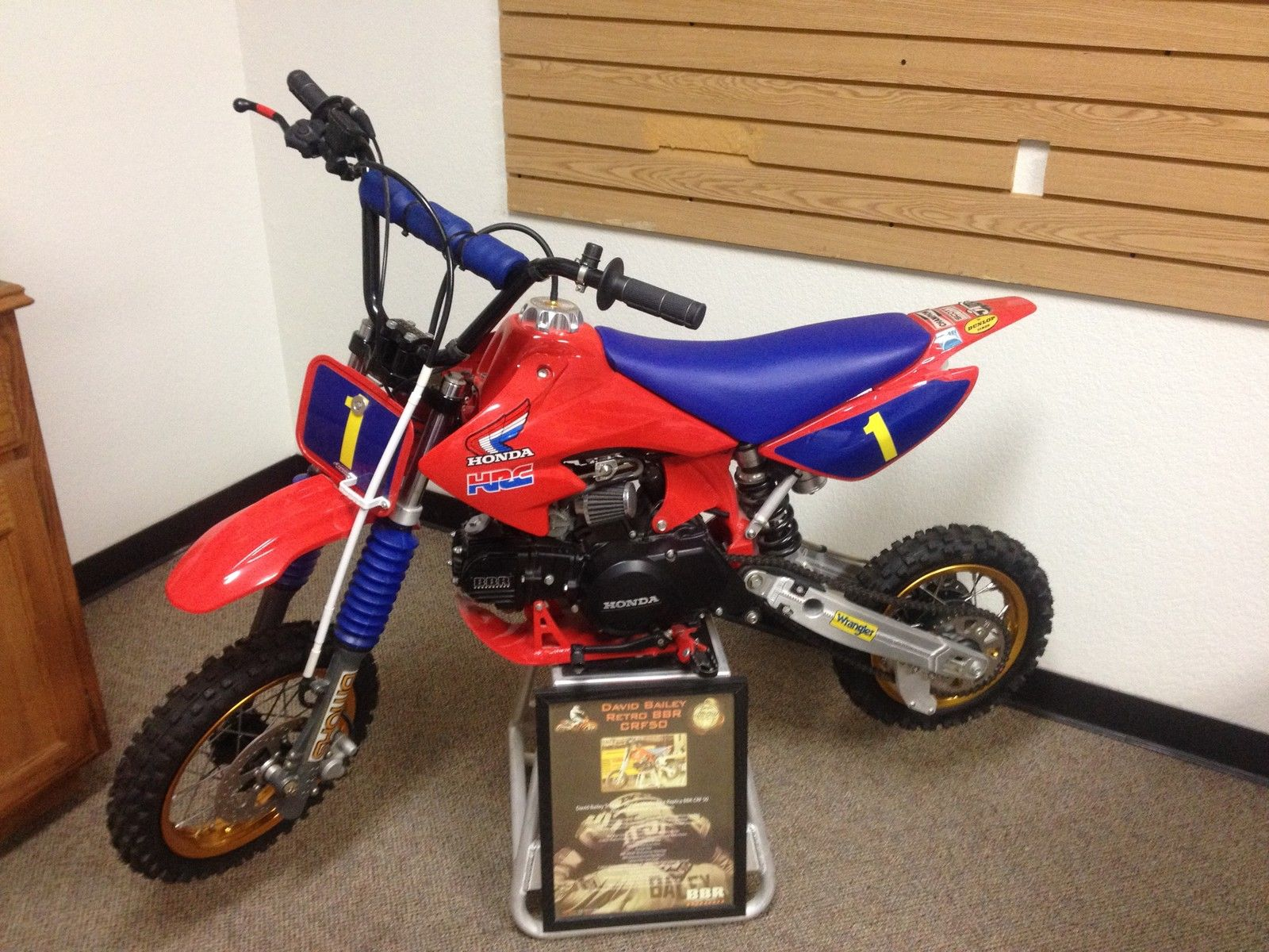Honda Crf50f David Bailey Tribute Bike Will Not Ship 2006 50cc Pit Crf