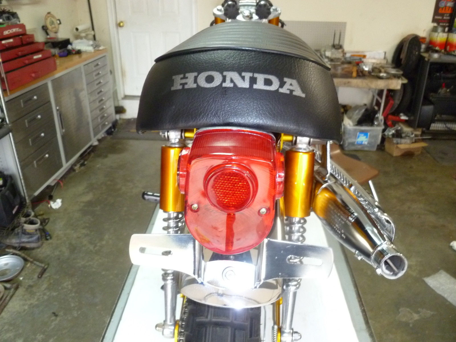 Honda Ct70 Ko Candy Gold 3 Speed Like New Restored And Ready To Ship 1970 Battery Price Us 440000