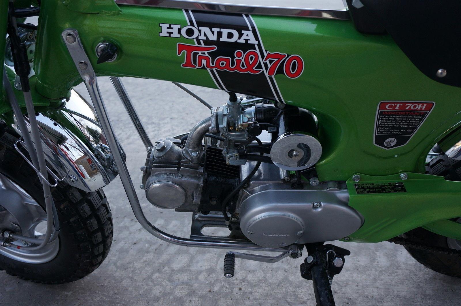 Honda Ct Mini Trail Speed Restored on Honda Trail 70 Ebay