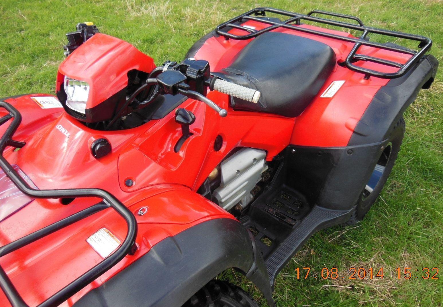 Honda Foreman 500fa Automatic Quad Bike Off Road 4x4 Utility Farm Quad Atv