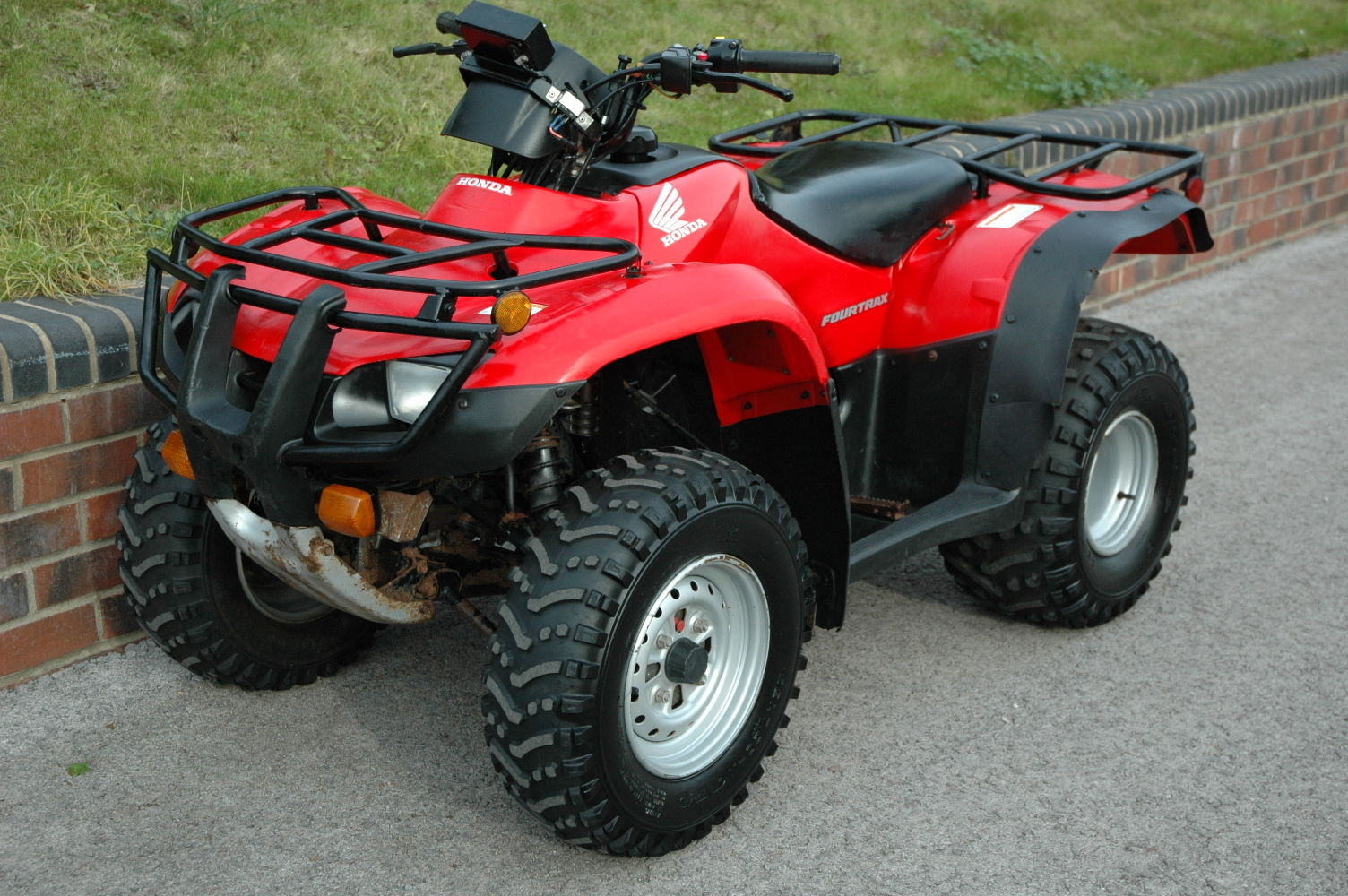honda fourtrax trx250tm quad bike atv road registered Honda TRX250TM Controls Diagram Honda TRX250TM Clutch