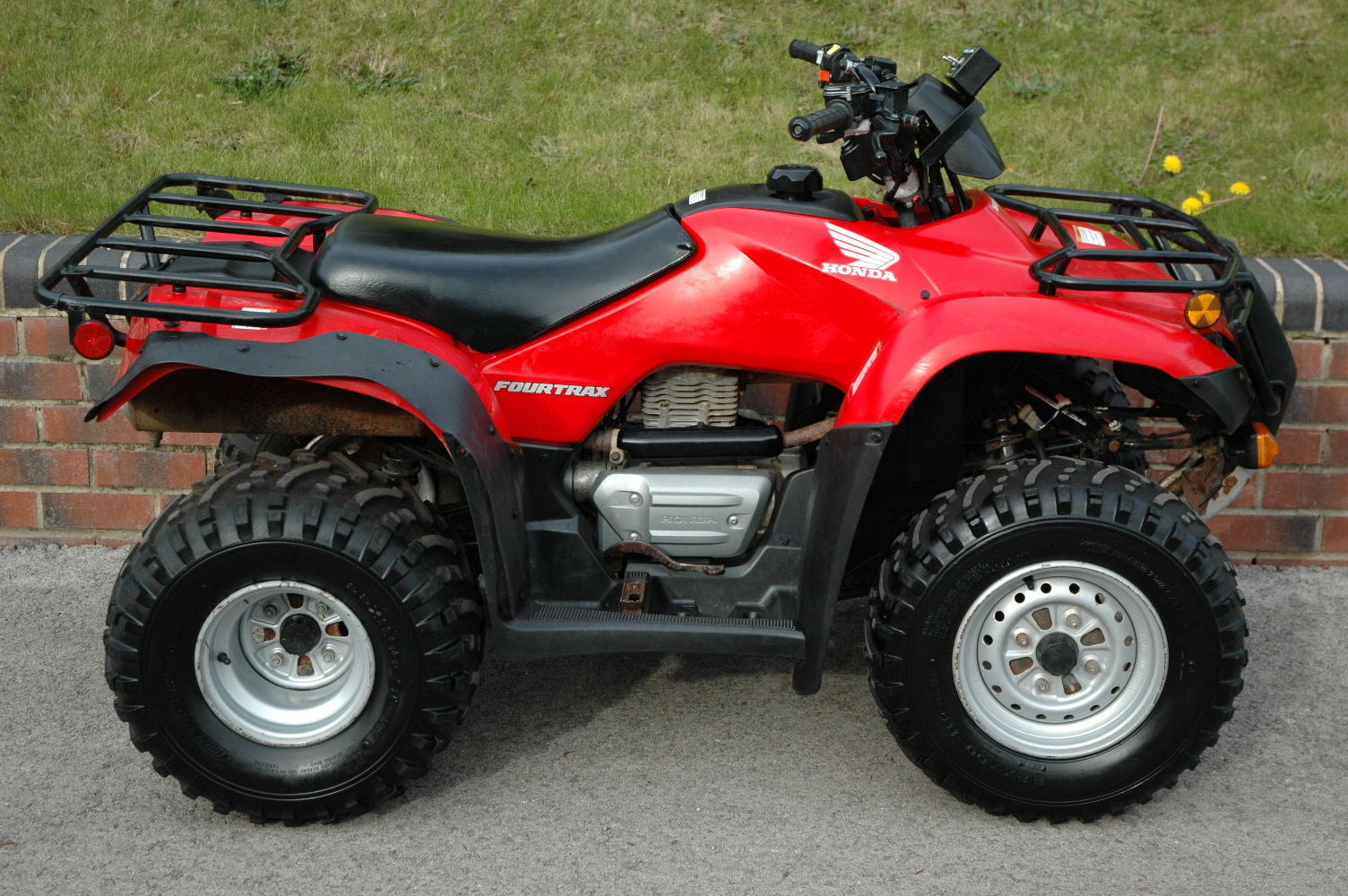 honda fourtrax trx250tm quad bike atv road registered Honda Recon ATV Tires Honda TRX250TM Clutch