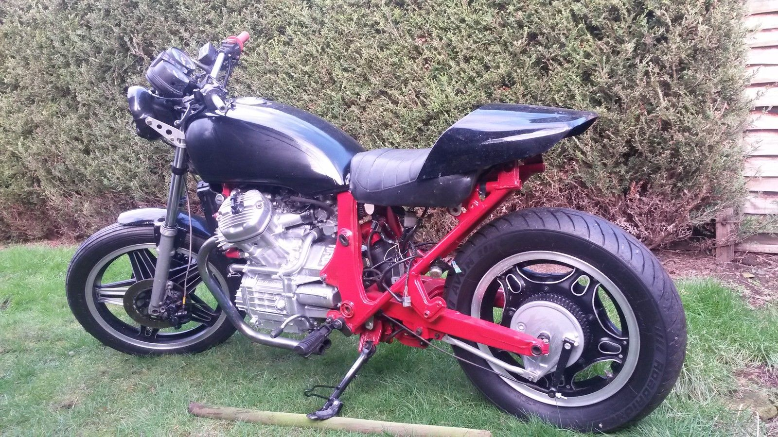 Honda GL500 Silverwing CX500 Cafe Race Flat Track Unfinished Project