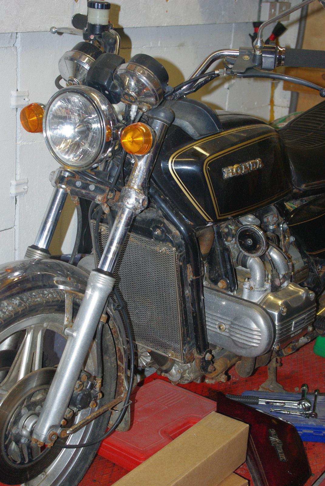 Honda Goldwing Gl 1000 K3 1978 1st Registered 1980 For