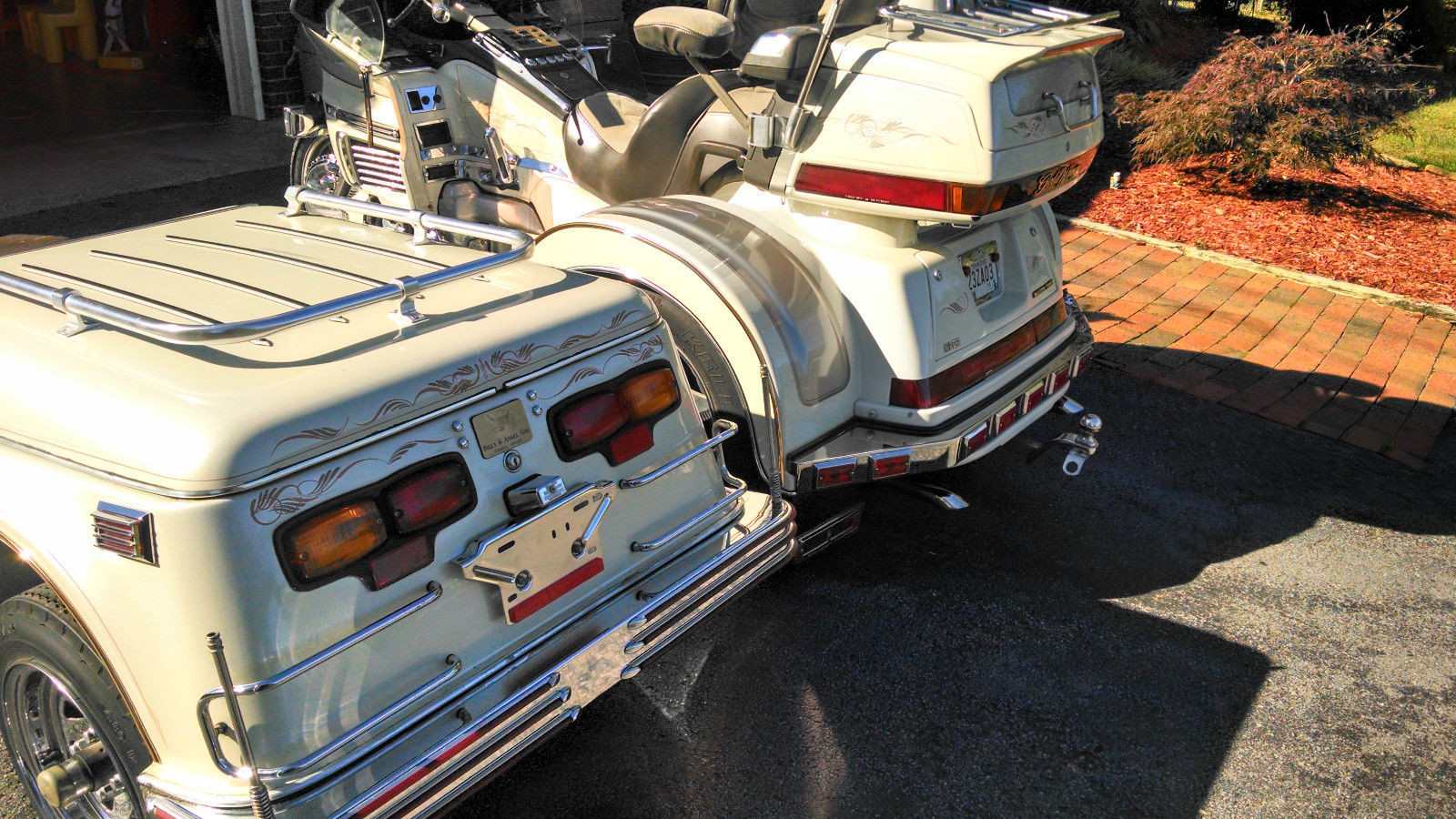 Honda Goldwing Trike  U0026 Matching Escapade Cargo Trailer