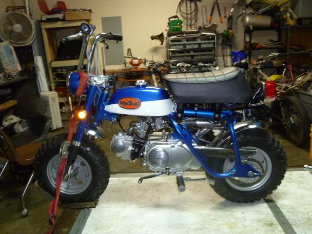 honda mini trail z50 monkey bike k2 hardtail z 50 k2 restored. Black Bedroom Furniture Sets. Home Design Ideas