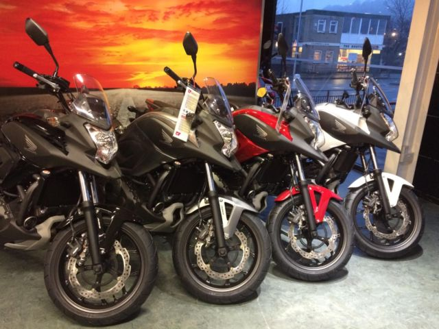 Honda Nc 750 X 2015 All Colours In Stock At Craigs Honda Leeds