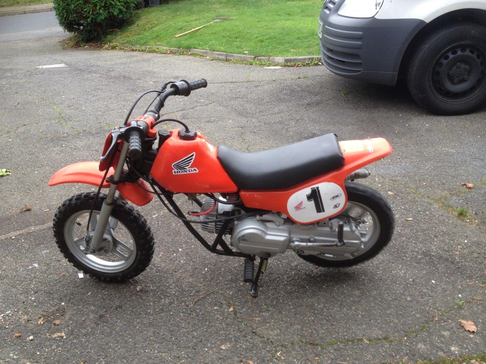 honda qr50 automatic kids1980s motocross off road bike not. Black Bedroom Furniture Sets. Home Design Ideas