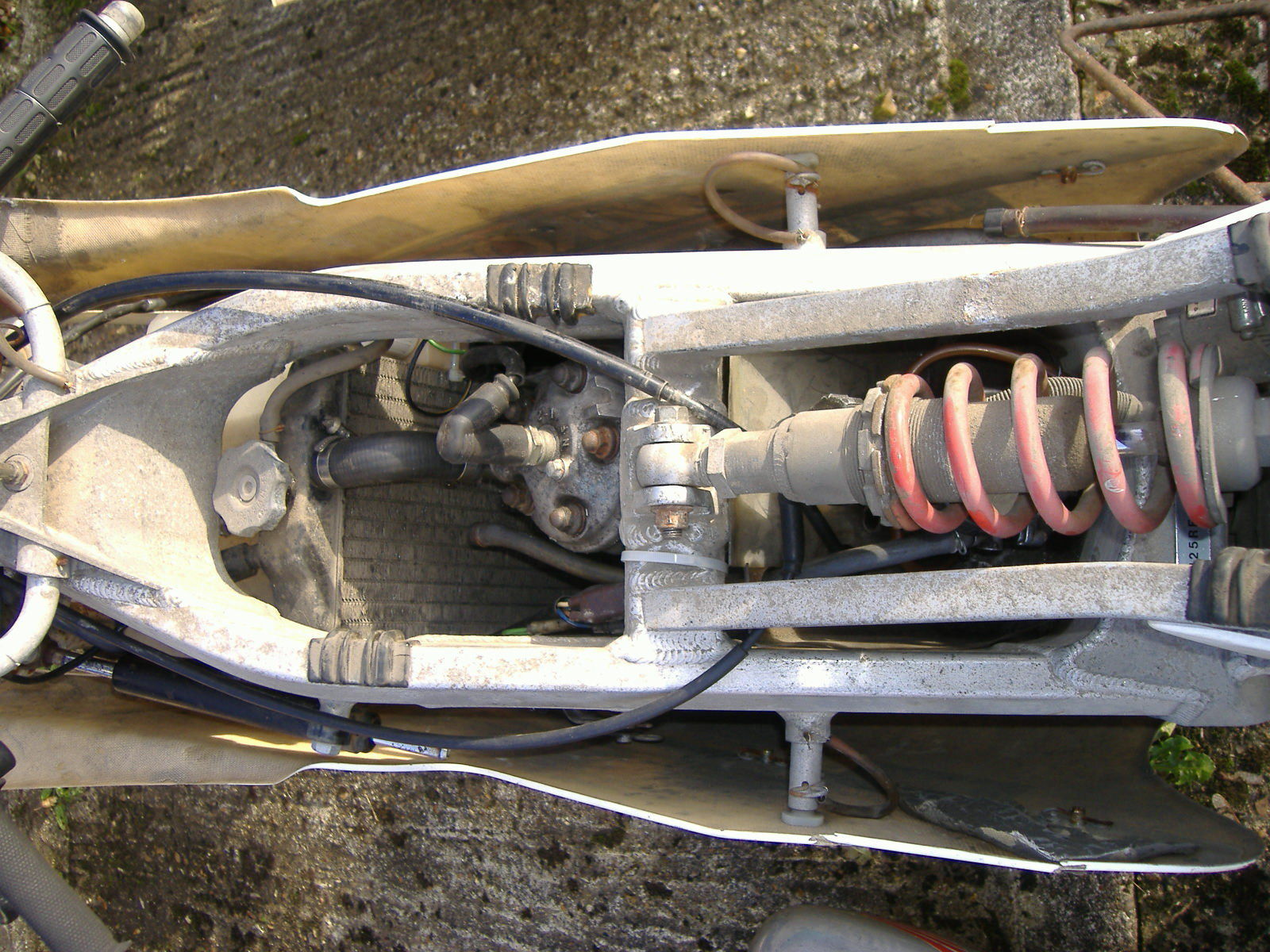 Honda Rs125 Hrc Project With Spare Parts