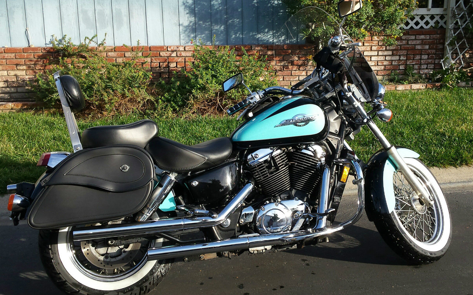 HONDA SHADOW AMERICAN CLASSIC EDITION 1100 MADE IN USA