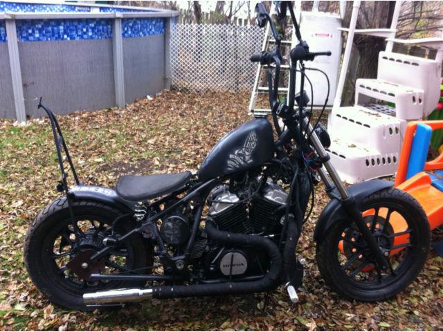 Honda Shadow Bobber Hand Made Old School Chopper No Reserve