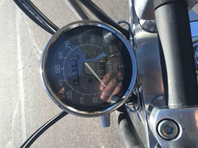 Honda Shadow Old School Bobber Chopper Vintage Look 60 Style Harley