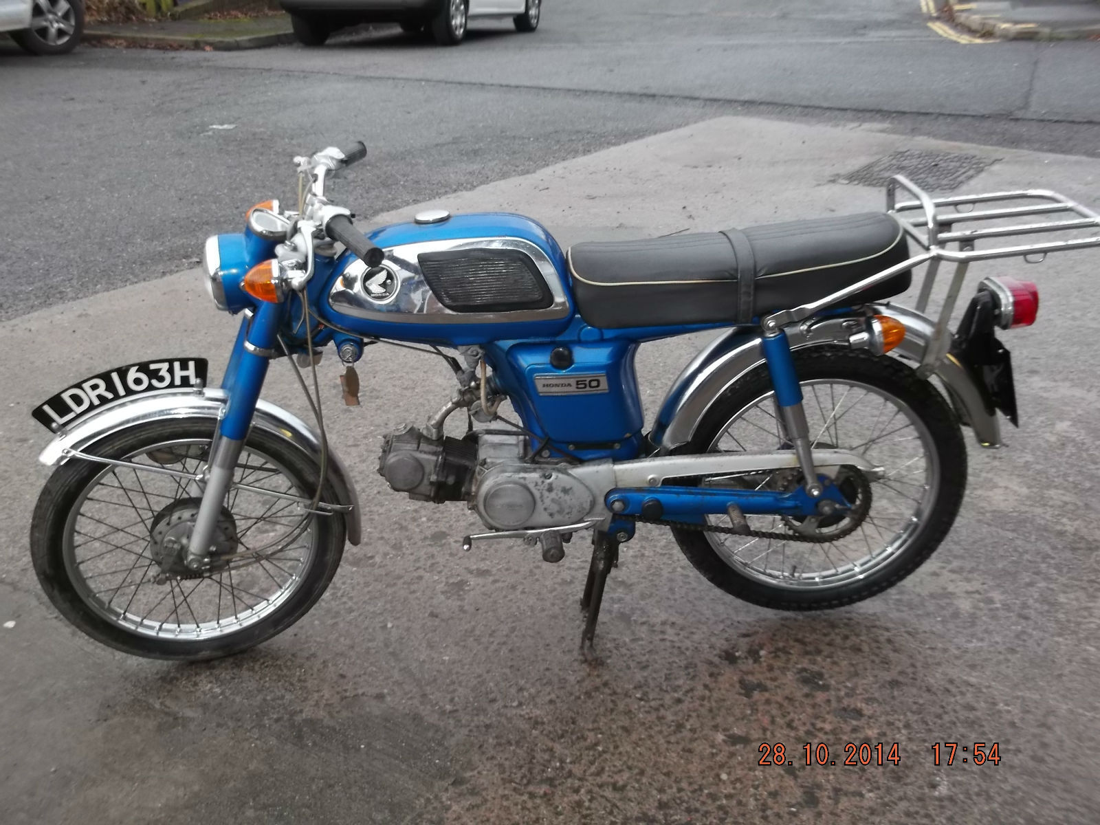 Honda Ss50 Manufactured In 1969 Clean Bike