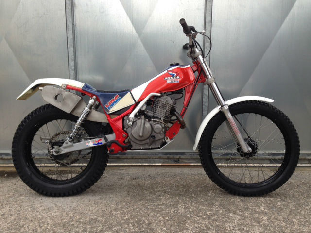 Honda tlr 250 trials r motor twin shock the best ever for Honda motor credit payoff
