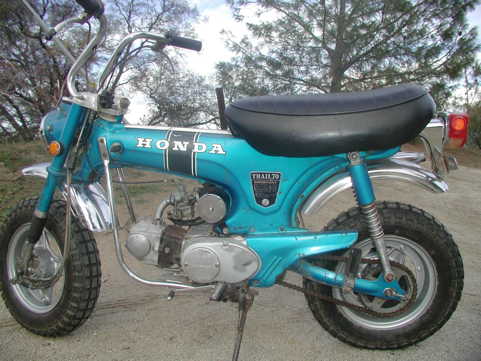 Honda Trail Ct Ct Think Christmas Great Mid Life Crisis Gift For Someone on Honda Trail 70 Ebay