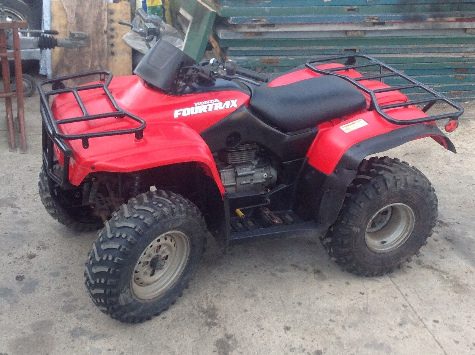honda trx 250 farm quad atv big red fourtrax. Black Bedroom Furniture Sets. Home Design Ideas