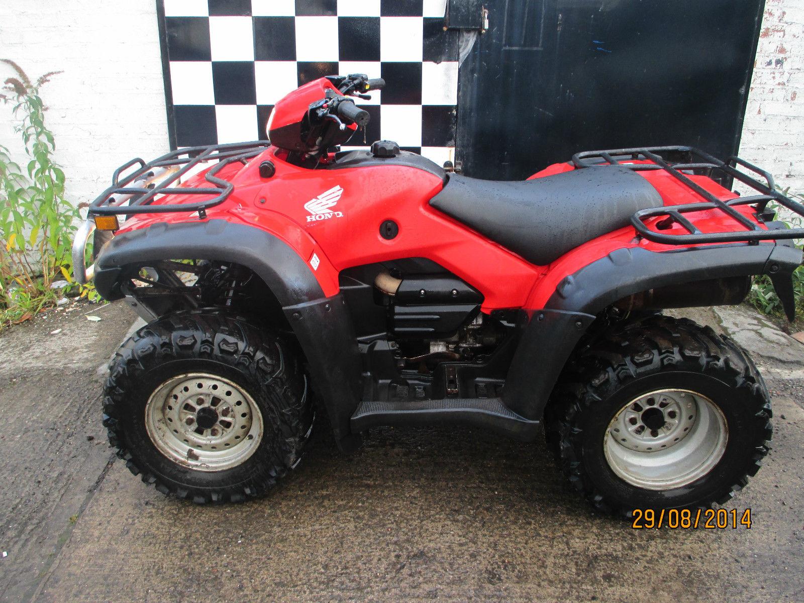 Honda Trx 500 Fm Foreman 2011 4 Wheel Drive Quad