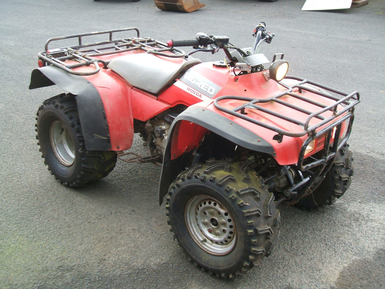 honda trx300ew bigred 4x4 quad bike. Black Bedroom Furniture Sets. Home Design Ideas