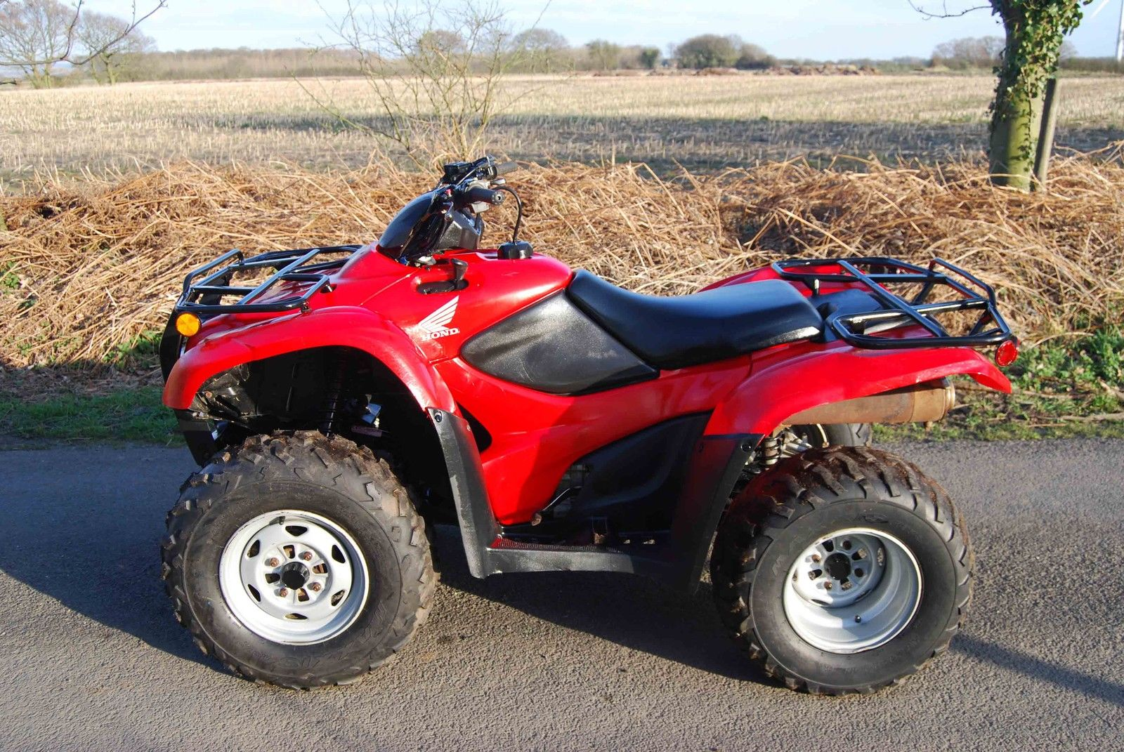 2007 Honda TRX680FA/FGA FOURTRAX RINCON/with GPScape OWNER'S MANUAL FOR  OFF-ROAD USE ONLY This vehicle is designed and manufactured for off-road  use only.
