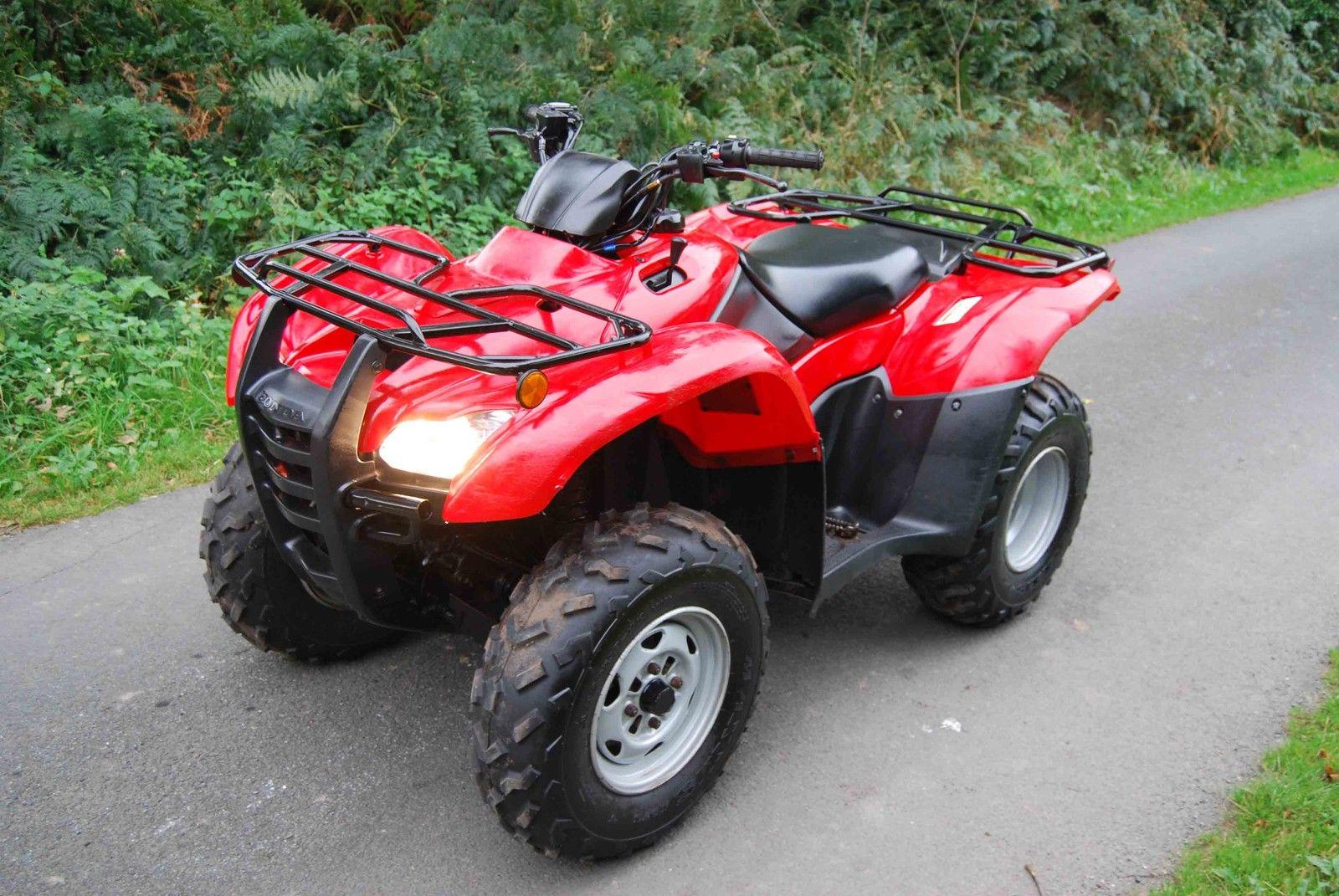 Honda Trx420 Fm 4x4 Farm Quad