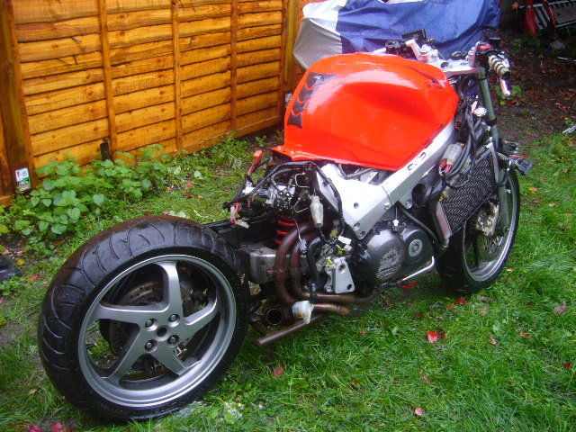 honda vfr 800 vtec spares or repair. Black Bedroom Furniture Sets. Home Design Ideas