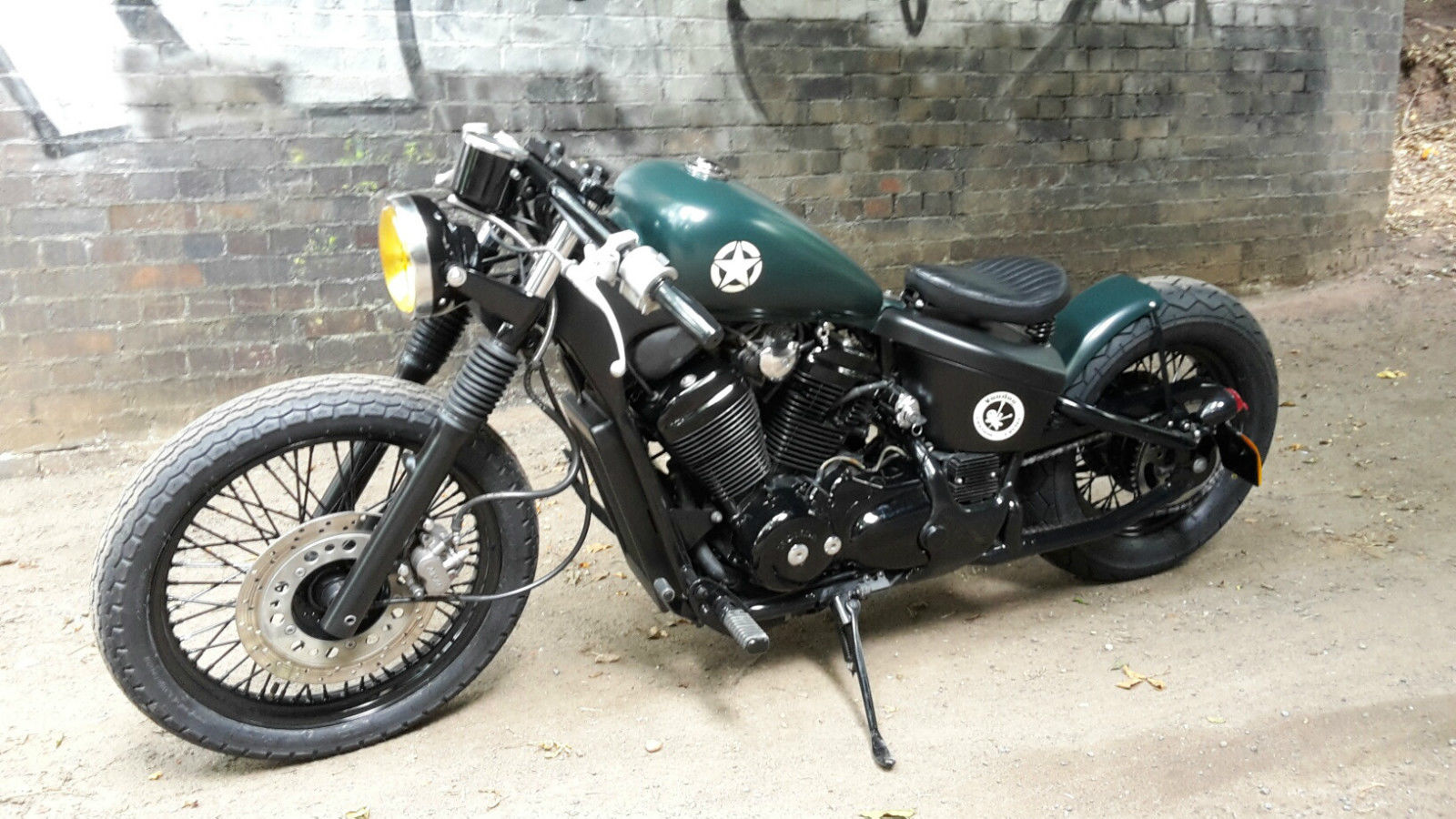 Honda Vt 400 Vt 600 Bobber Custom Steed Shadow The Forty