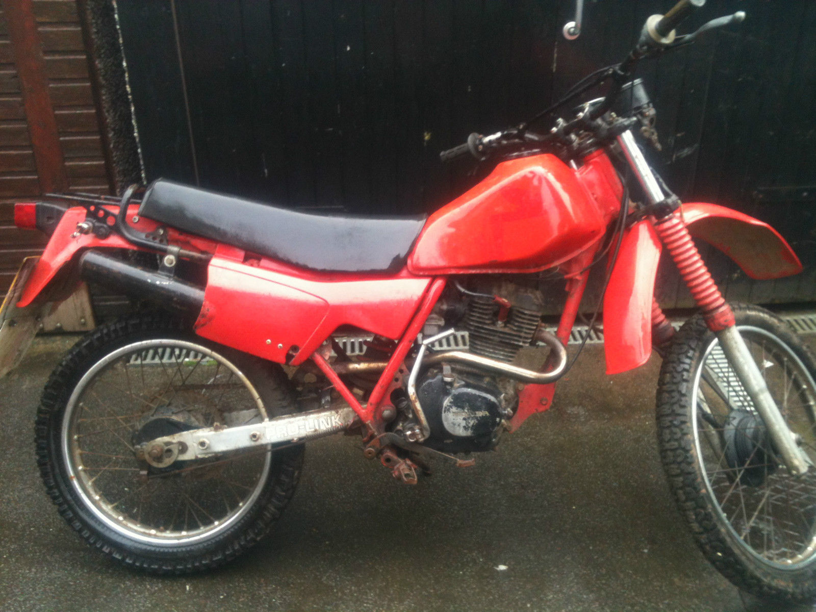 Honda Xl125rc 1983 Complete With V5c Restoration Project Or Parts Donor Shadow Motorcycle