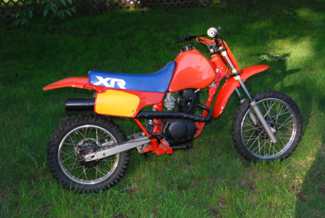 Honda XR 80 Dirt Bike   Clean Restoration Great Deal Looking To Make Room