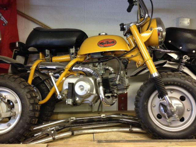 Honda Z50 K1 Mini Trail Monkey Bike Hard Tail 1972  U0026 V5