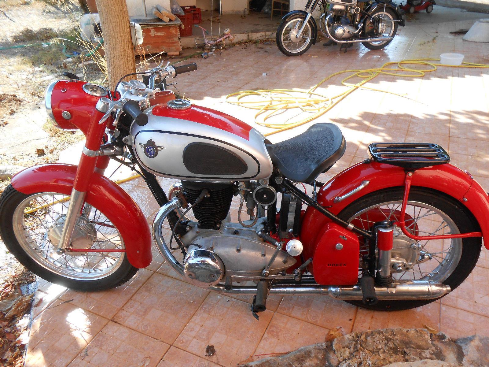 HOREX REGINA 350 red