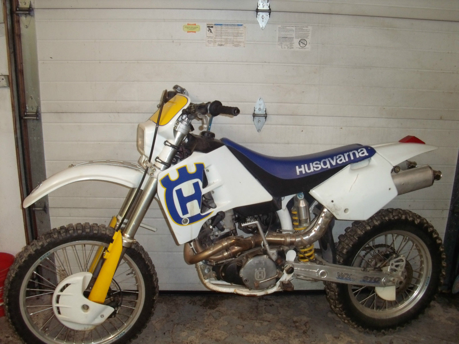 Husqvarna WXC-610 1993 in great running riding condition