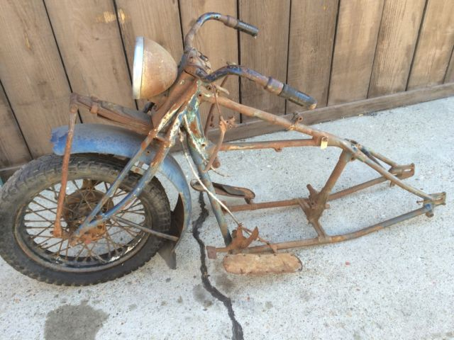 indian chief 1937 frame fork 36