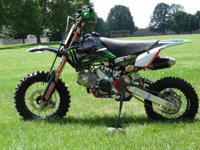 Kawasaki 2010 KLX110 Mint Highly Modified Pit Bike Low Hours 173cc