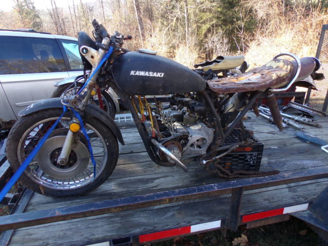 Motor Vehicle Bill Of Sale >> Kawasaki 900 1973 Z1 FRAME / LOWER END OF MOTOR AND MISC PARTS