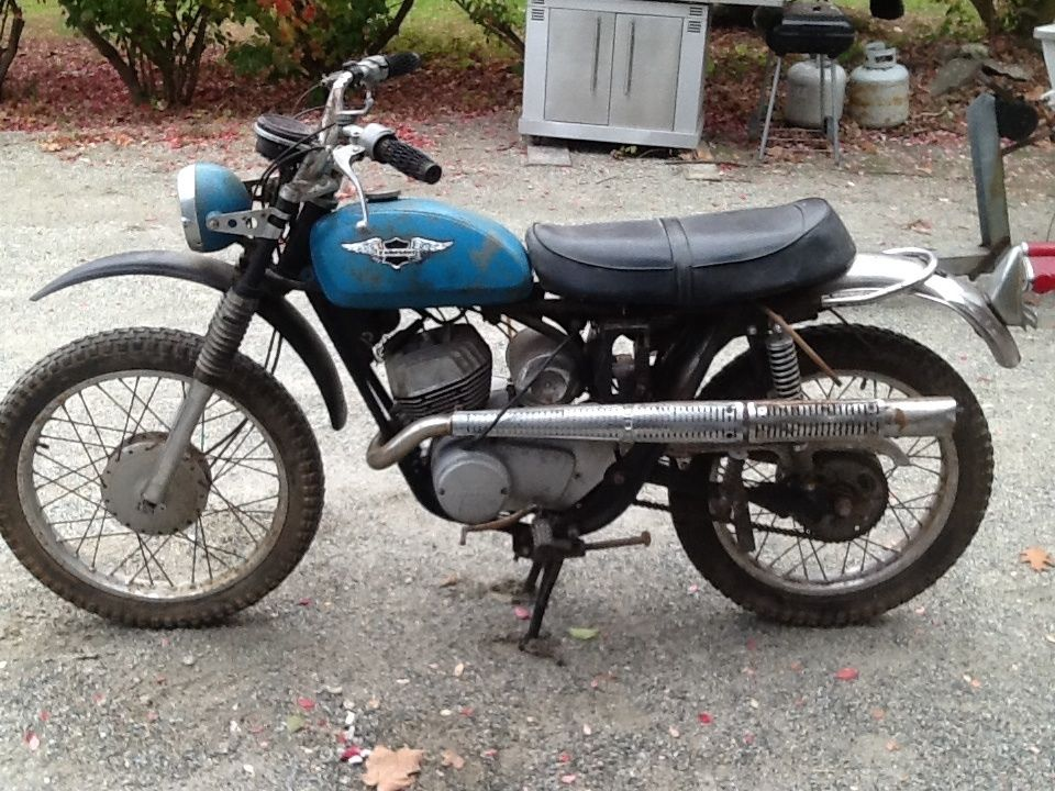 Kawasaki F3 Bushwacker 175 Cc Enduro Motorcycle
