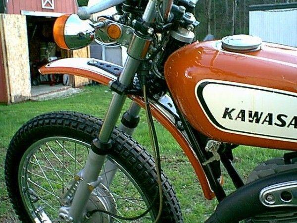 kawasaki f5 bighorn 350 cc 1970