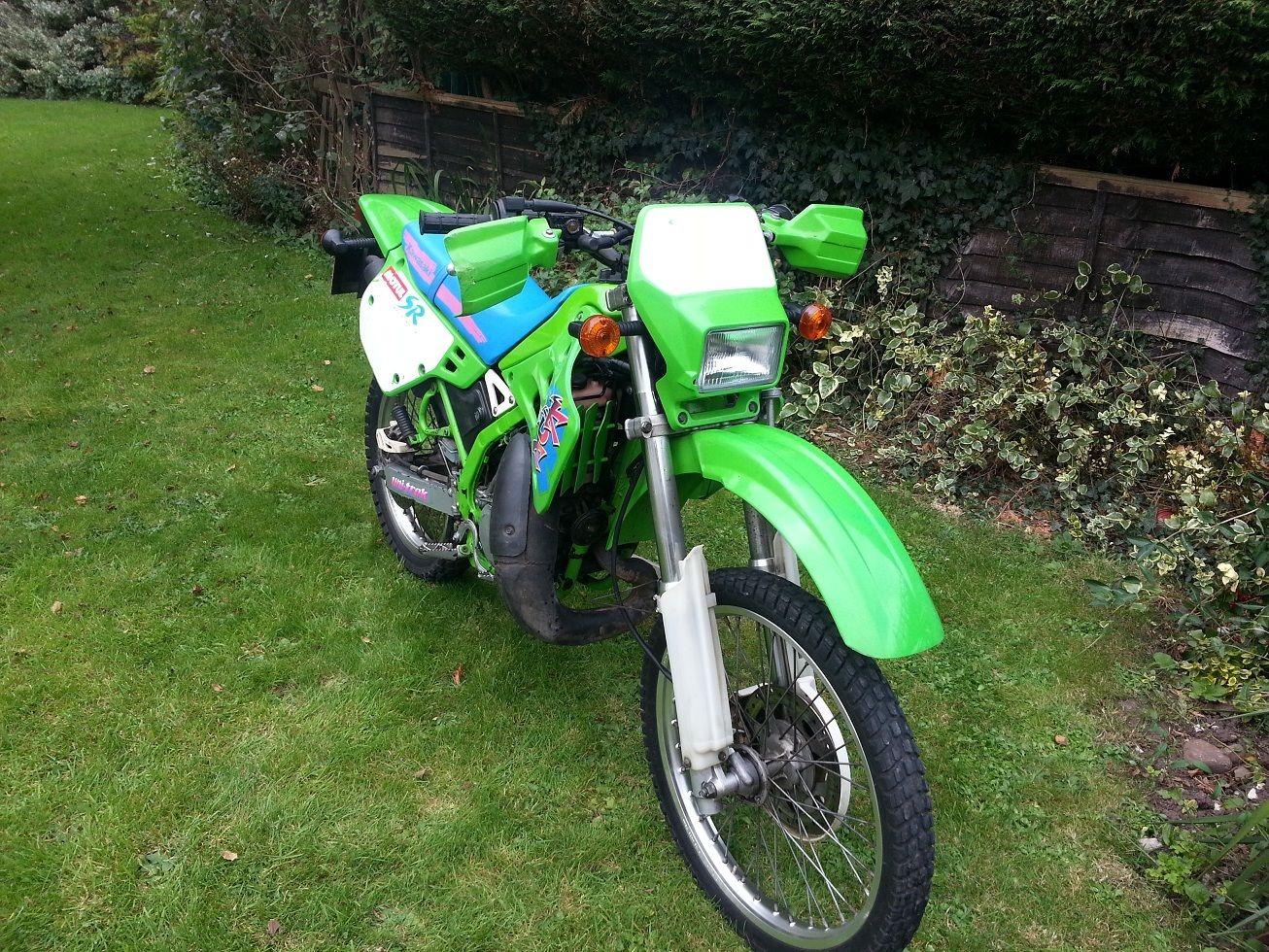 Kawasaki Kdx 125 B2 Sr Only 4195 Miles  Spares Or Repair  1993