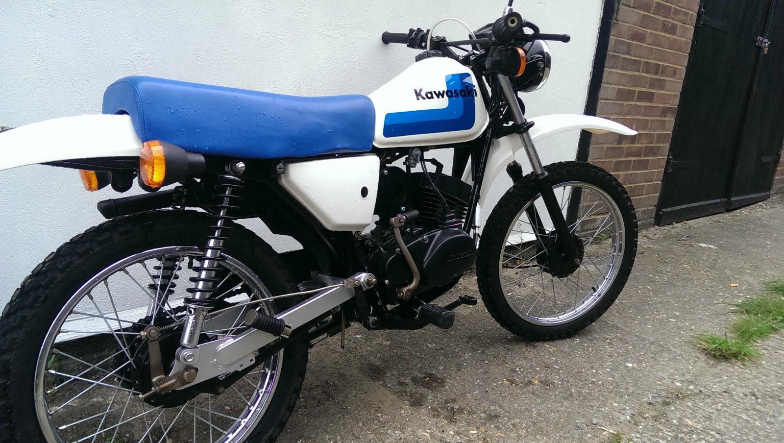 Kawasaki KE100 1989 Model - Recently Fully Restored - Very Good Condition