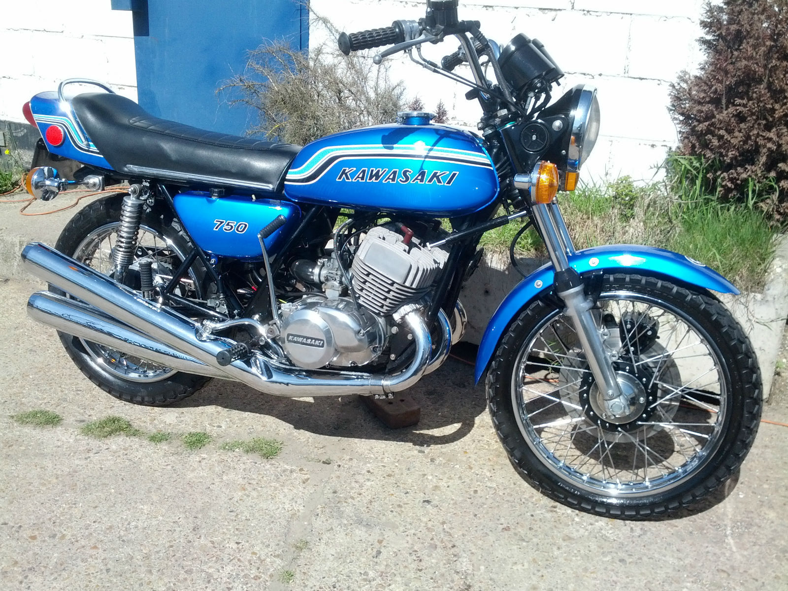 Kawasaki Kh Model History