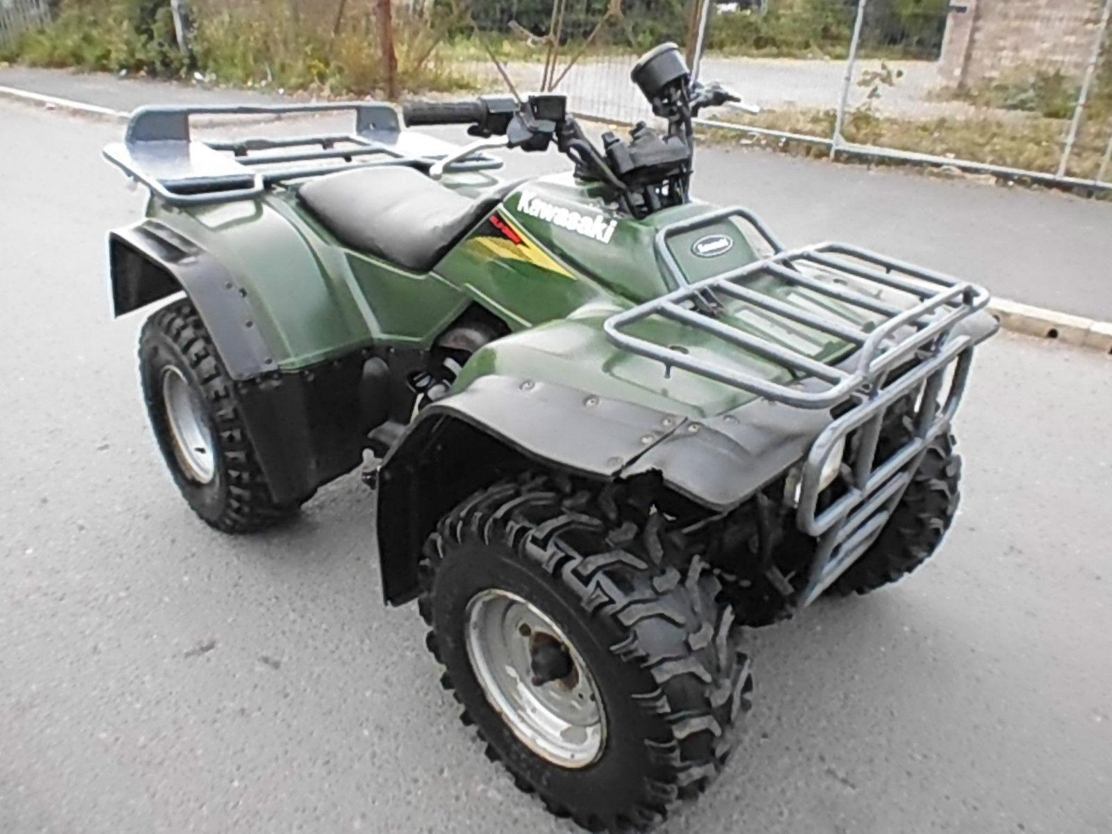 KAWASAKI KLF 300 4X4 FARM QUAD BIKE ATV SMALLHOLDING EQUESTRIAN
