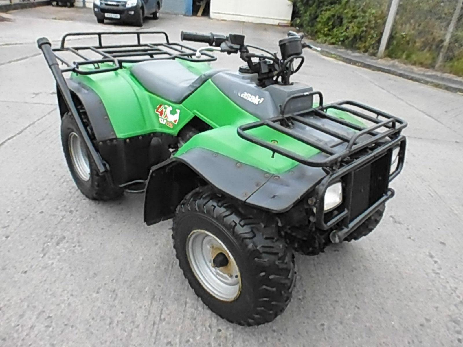 kawasaki klf 400 4x4 farm quad bike atv spares or repair. Black Bedroom Furniture Sets. Home Design Ideas