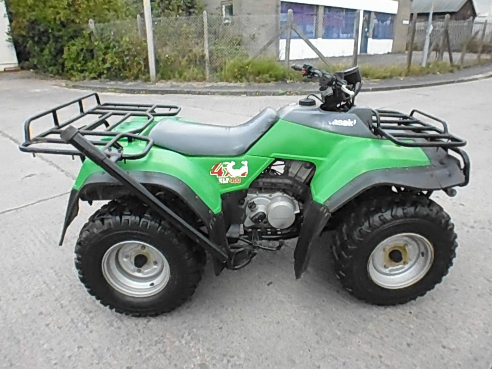 kawasaki klf 400 4x4 farm quad bike atv spares or repair. Black Bedroom Furniture Sets. Home Design Ideas