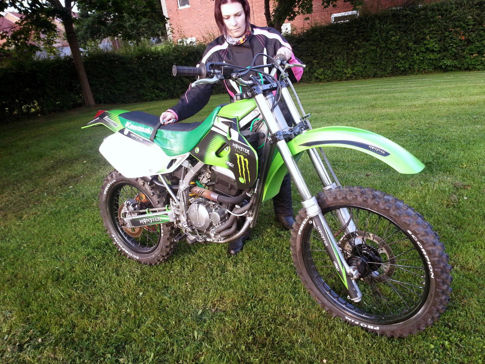 Kawasaki Dirt Bikes  Used