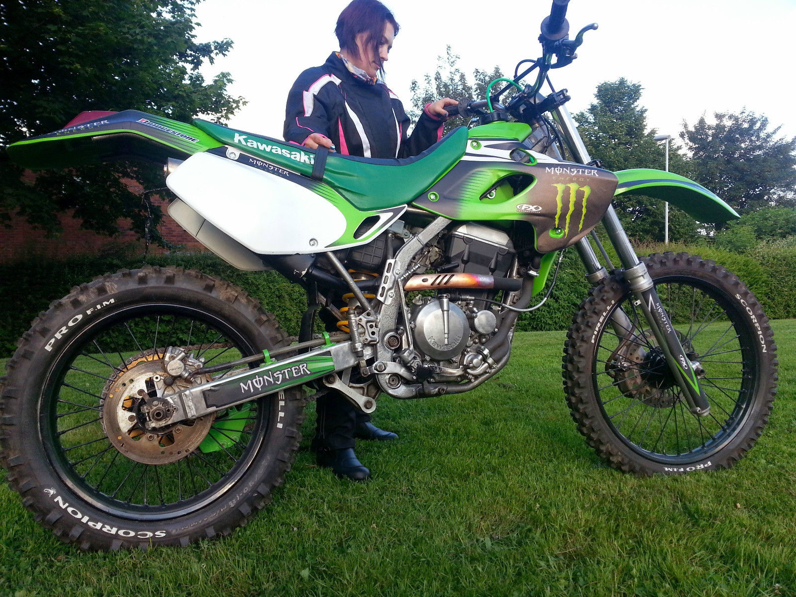 Kawasaki KLX 250, OFF ROAD, CROSS, DIRT BIKE