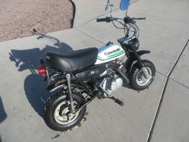Tire Patch Cost >> Kawasaki Kv 75 1979 Mini Trail 75cc 2stroke Vintage Mini ...