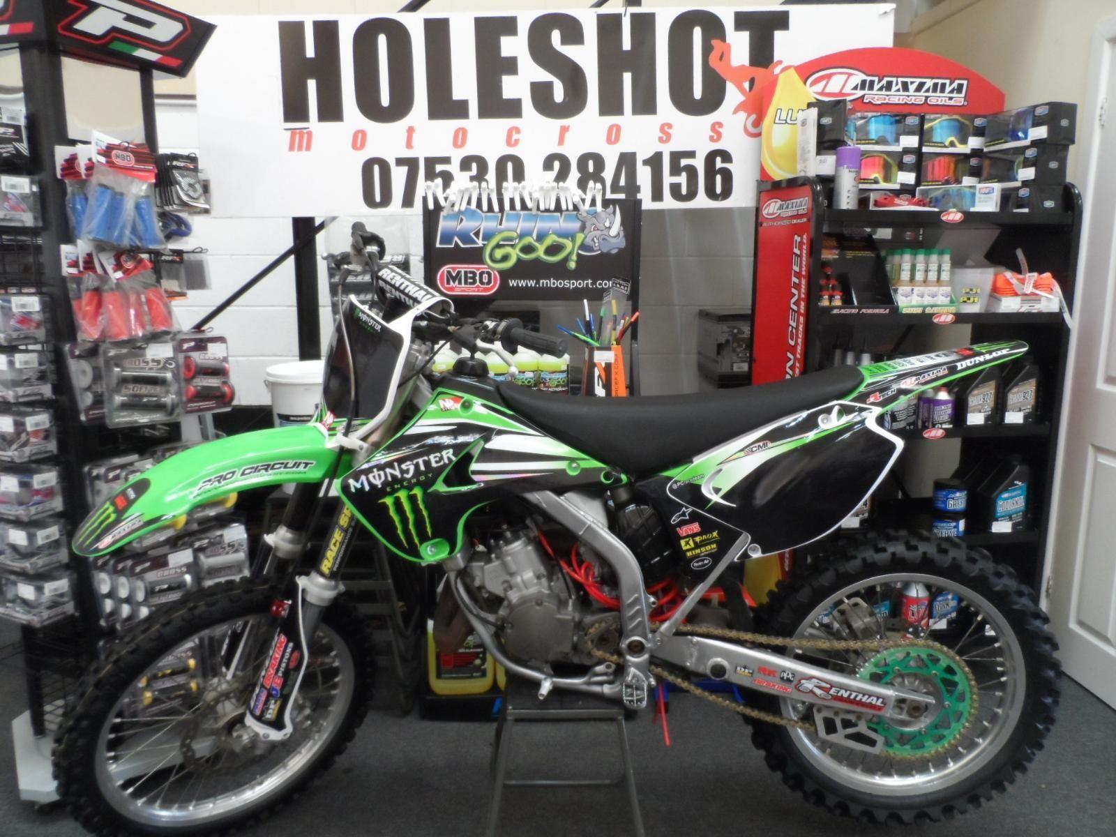 Kawasaki Kx 125 2006 Motocross Bike 2 Stroke Full Monster Energy