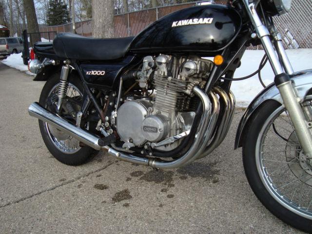 KAWASAKI KZ1000 1977 NEEDS TLC