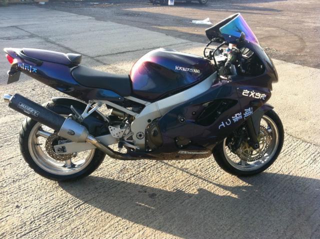 Kawasaki Ninja Zx 900 C1 Two Tone Purple