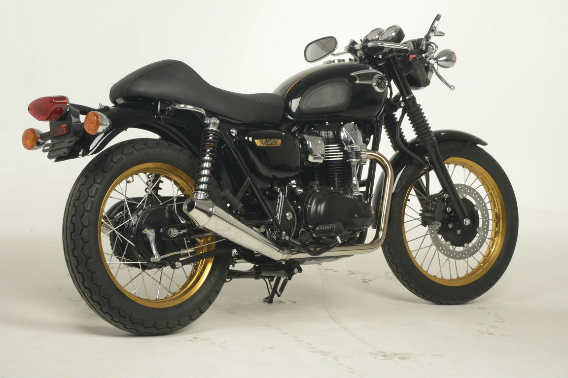 KAWASAKI W800 LTD EDITION CAFE RACER 3yrs 0 3 YRS FINANCE AVAILABLE